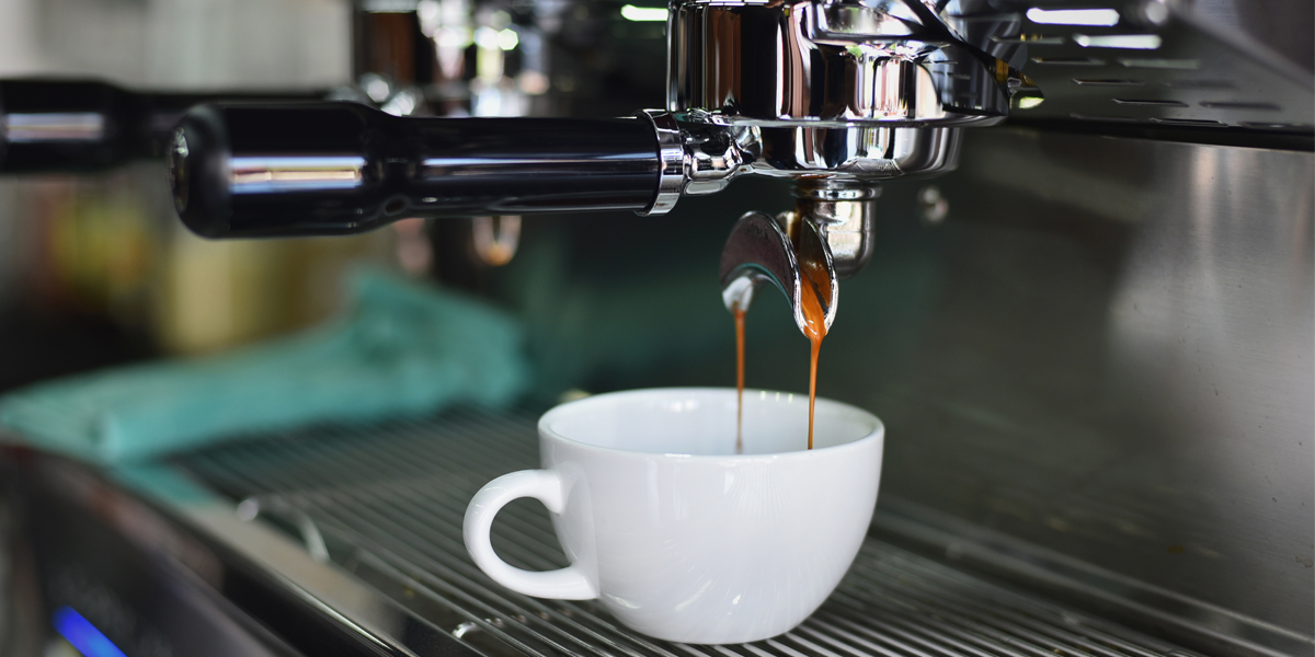 how did the espresso machine become popular