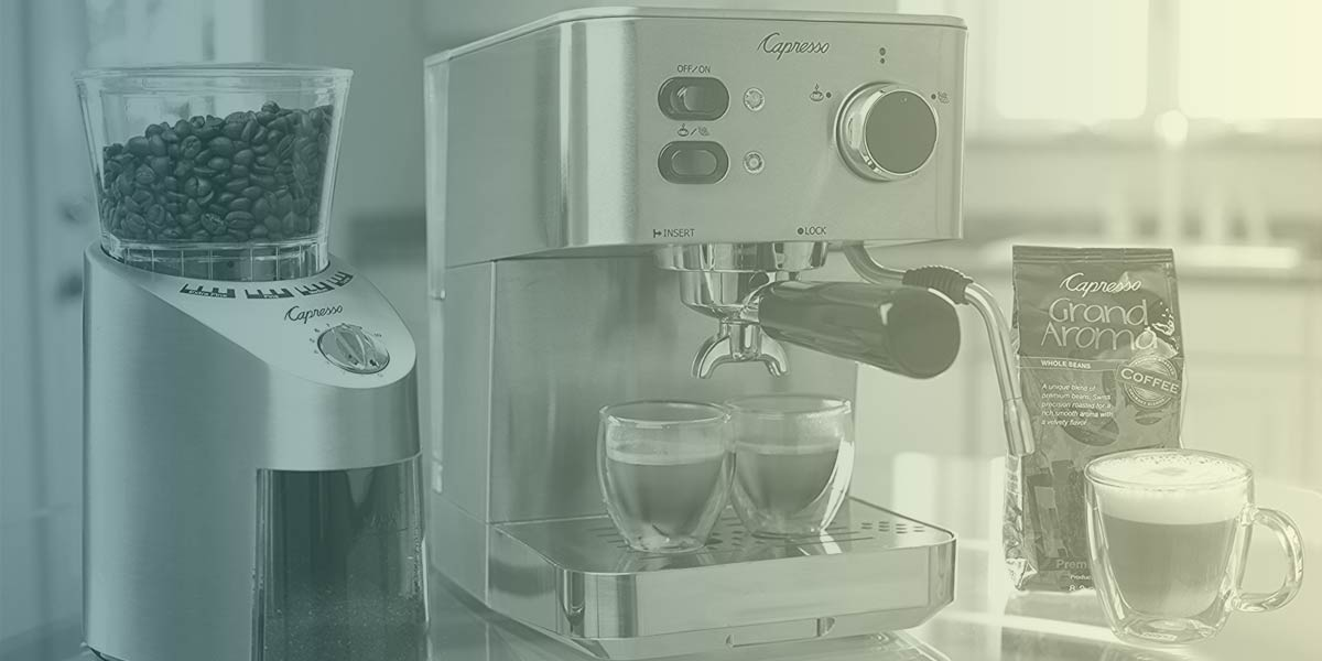 The Capresso Coffee Machine Basics Everyone Should Know
